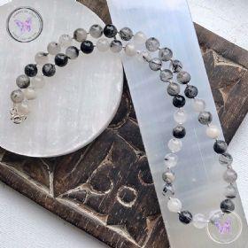 Tourmaline Quartz Bead Necklace